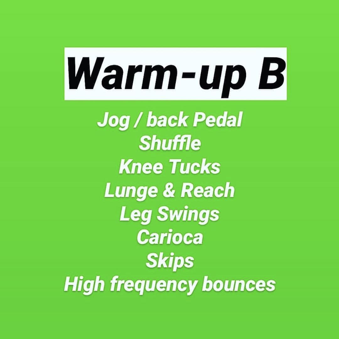 Warm Up B