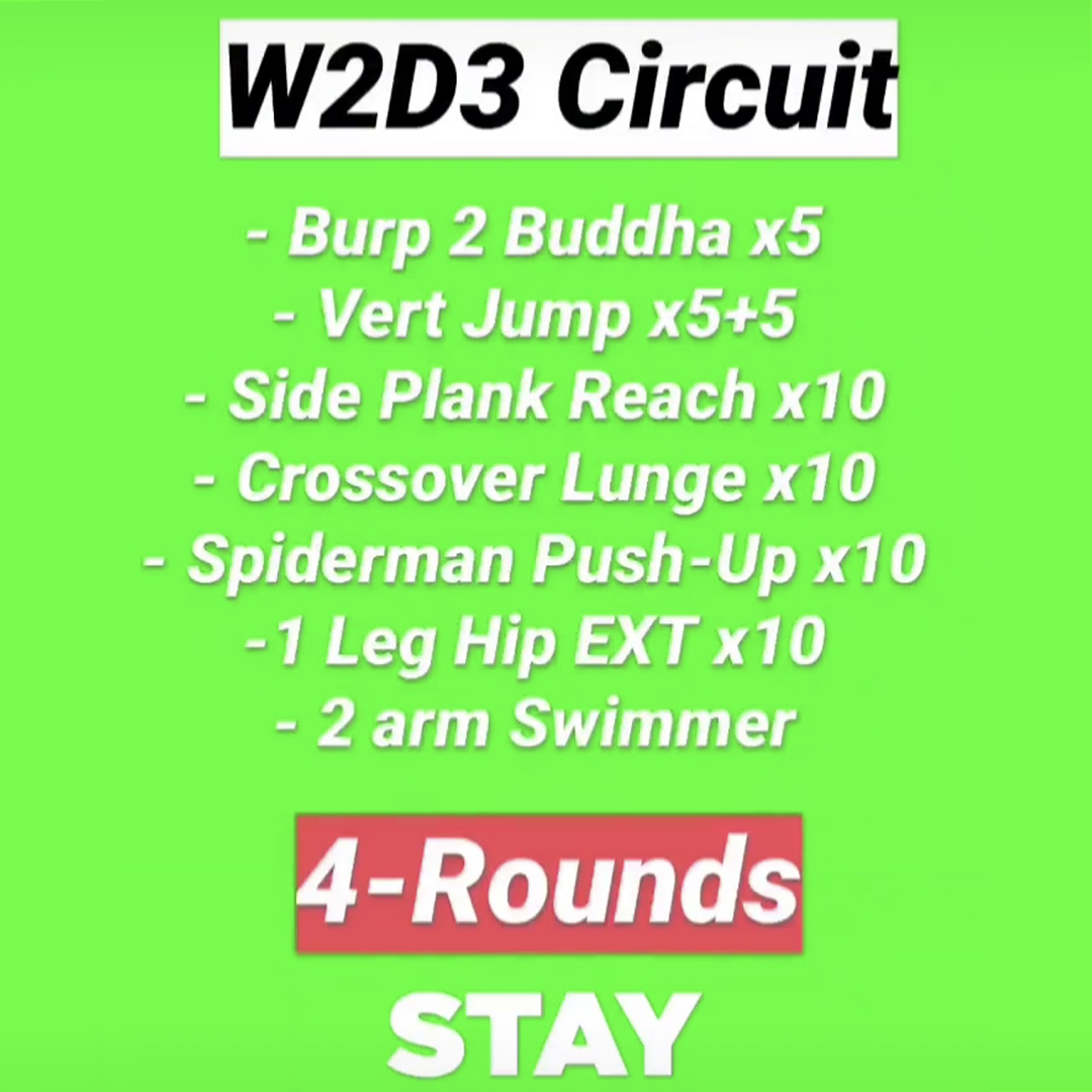 Workout 8