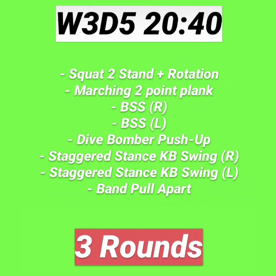 Workout 15